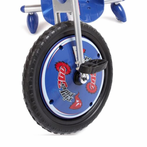 Razor Rip Rider 360 Drifting Ride On Big Wheel Tricycle, Kids Ages 5 & Up, Blue Perspective: back