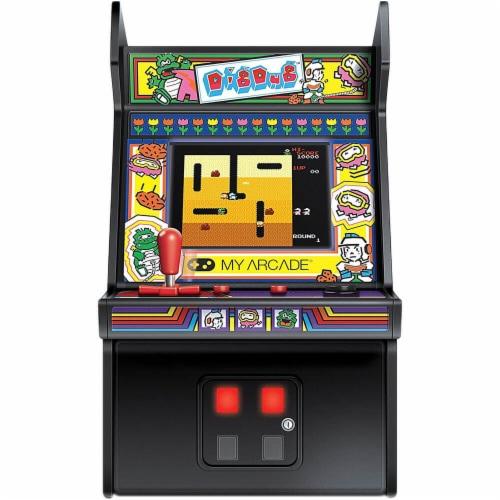 My Arcade DIGDUGMICROP Dig Dug Micro Player Perspective: back