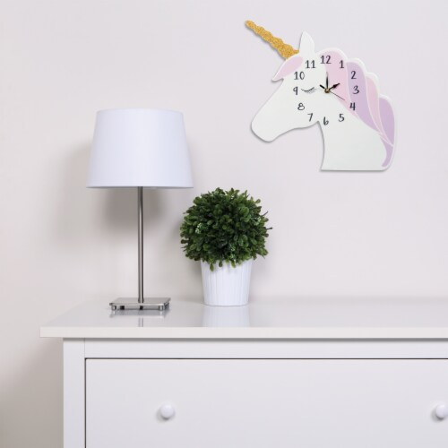 Trend Lab Unicorn Wall Clock Perspective: back