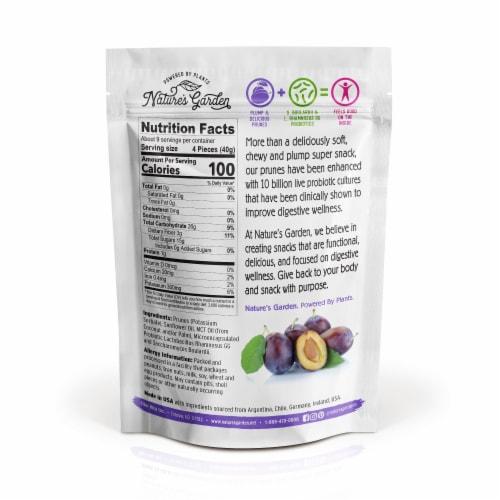 Nature's Garden Probiotic Prunes 12 oz Perspective: back