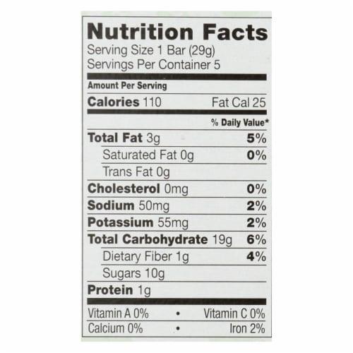 Plum Kids Jammy Sammy Snacks - Apple Cinnamon and Oatmeal - Case of 6 - 1.03 oz. Perspective: back