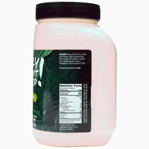 Only Plant Based Vegan Mayonnaise, Original, Food Service Size, 40 Fl Oz Perspective: back