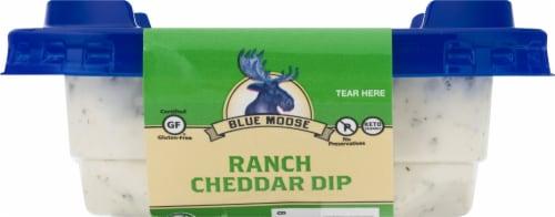 Blue Moose of Boulder Ranch Cheddar Dip Perspective: back
