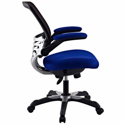 Edge Mesh Office Chair, EEI-594-BLU Perspective: back
