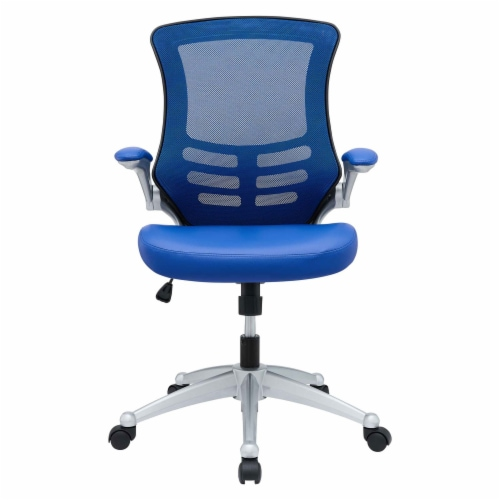 Blue Attainment Office Chair Perspective: back