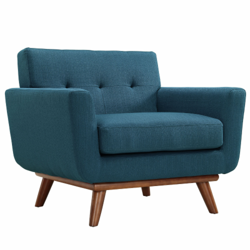 Engage Armchair and Loveseat Set of 2 - Azure Perspective: back