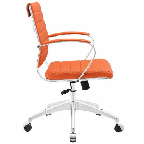 Orange Jive Mid Back Office Chair Perspective: back