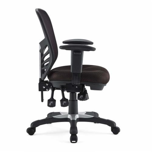 Articulate Mesh Office Chair, EEI-757-BRN Perspective: back