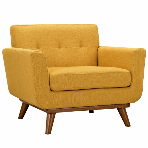 Engage Armchair and Sofa Set of 2 - Citrus Perspective: back