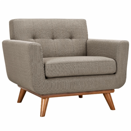 Engage Sofa Loveseat and Armchair Set of 3 - Granite Perspective: back