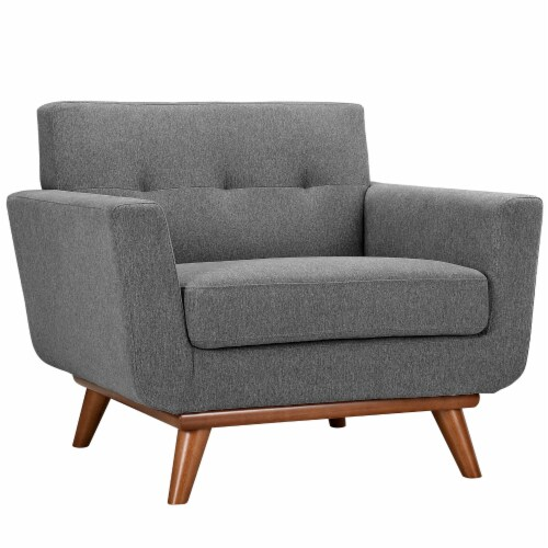 Engage Sofa Loveseat and Armchair Set of 3 - Expectation Gray Perspective: back