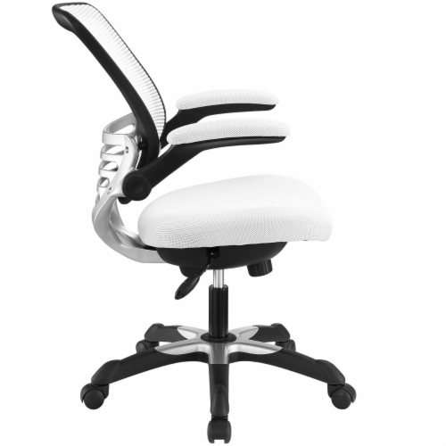 Edge Mesh Office Chair, EEI-594-WHI Perspective: back