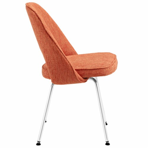 Cordelia Dining Chairs Set of 4 - Orange Perspective: back