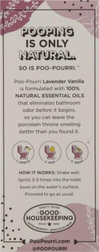 Poo-Pourri Before You Go Lavender Vanilla Toilet Spray Perspective: back