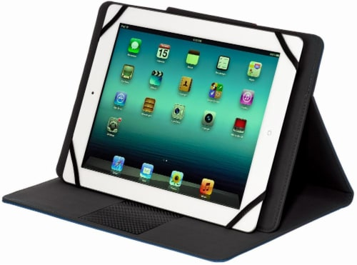 M-Edge Universal Stealth Folio for iPad - Navy Perspective: back
