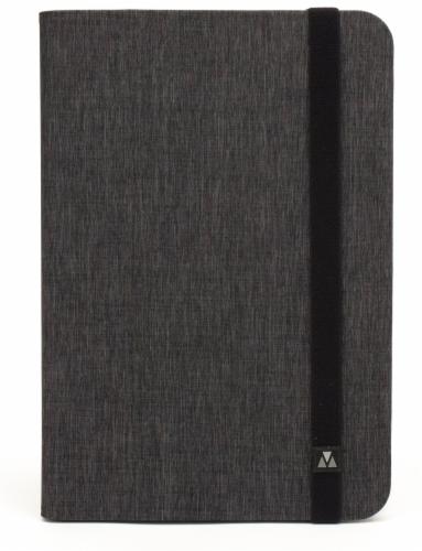 M-Edge Folio Plus Tablet Case - Gray Perspective: back