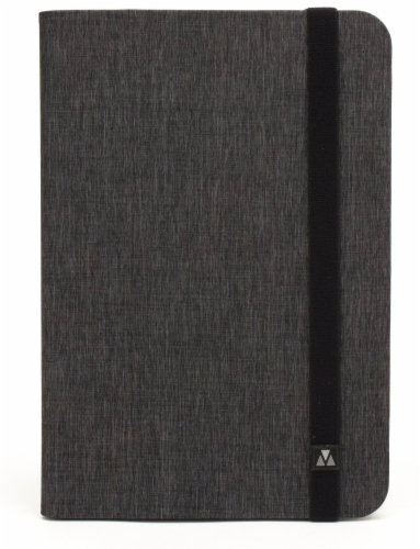 M-Edge Folio Plus Case for 7-Inch Tablets - Gray Perspective: back