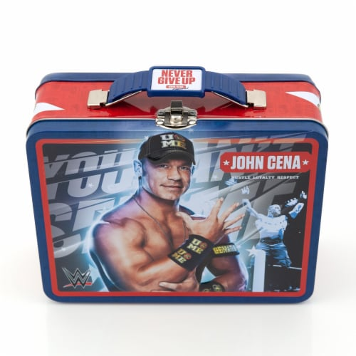 WWE Tin Lunch Box Featuring Superstar Wrestler John Cena Perspective: back