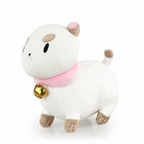 Talking PuppyCat Plush | Mighty Fine Official Bee & PuppyCat Doll | 10 Inches Perspective: back