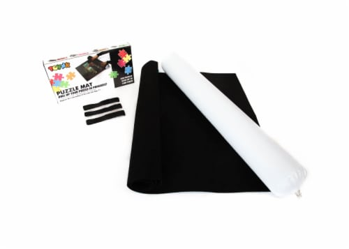 "Jigsaw Puzzle Roll Up Felt Mat Storage Saver | Large 46""x26"" 