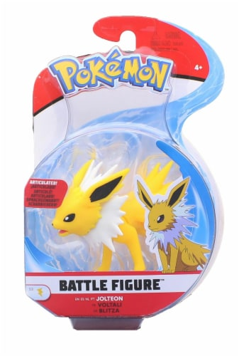 Pokemon Articulated 3 Inch Battle Figure | Jolteon Perspective: back