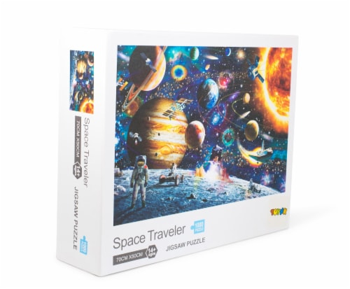 Space Traveler Space Puzzle 1000 Piece Jigsaw Puzzle | Jigsaw Puzzles For Adults Perspective: back