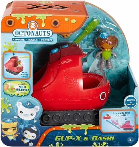 Fisher-Price Octonauts Gup-X & Dashi Vehicle & Figure Playset Perspective: back