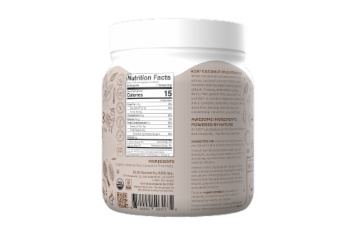 KOS Organic Coconut Milk Powder Perspective: back