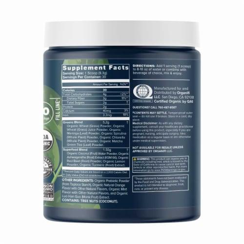 Organifi Original Green Juice Superfood Dietary Supplement Perspective: back