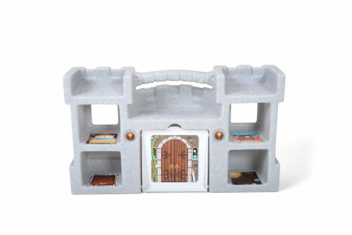 Simplay3 Carry & Go Castle Playset Perspective: back