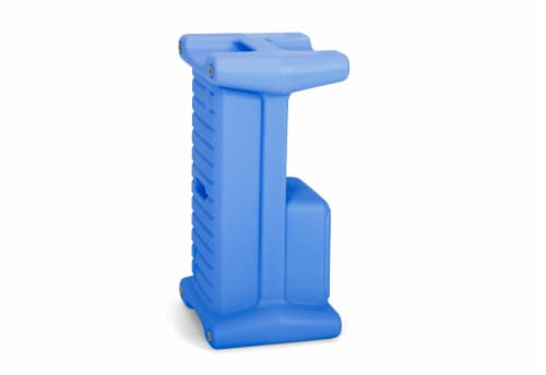 Simplay3 Step Stool and Seat - Blue Perspective: back