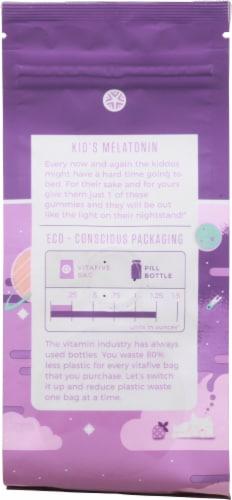 vitafive Kids Melatonin Gummy Vitamins Perspective: back