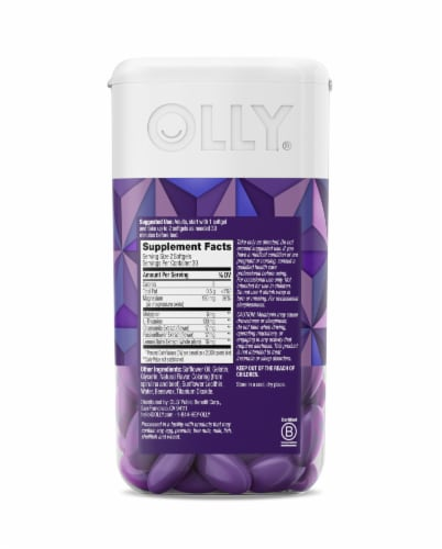 Olly Sleep Ultra Softgels Perspective: back