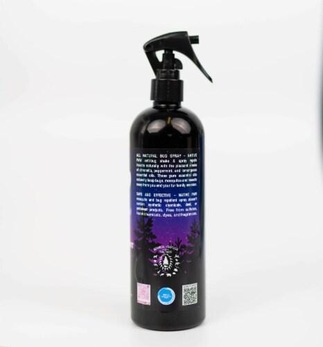 Native Paw All Natural + Vegan Anti-Bug Shake & Spray, DEET-Free Bug Spray, Eco-Friendly, Ins Perspective: back
