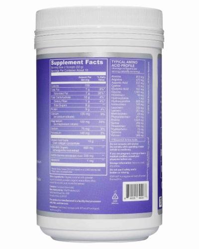 Vital Proteins Blueberry Moon Milk Collagen Latte Perspective: back