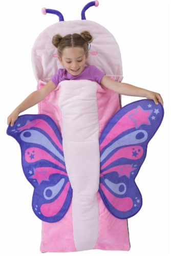 Bixbee Butterfly Sleeping Bag Perspective: back