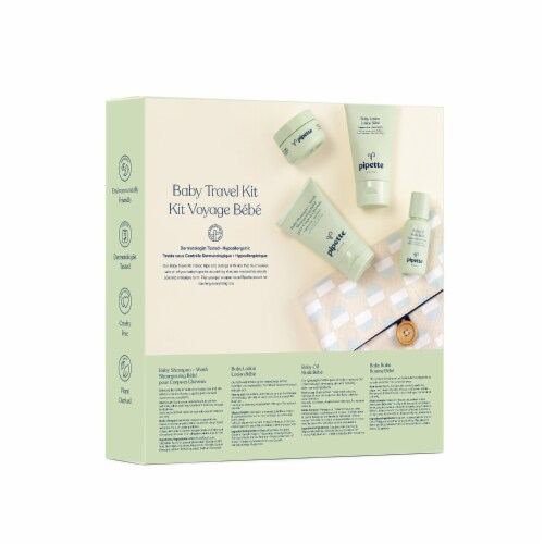Pipette Baby Travel Kit Perspective: back