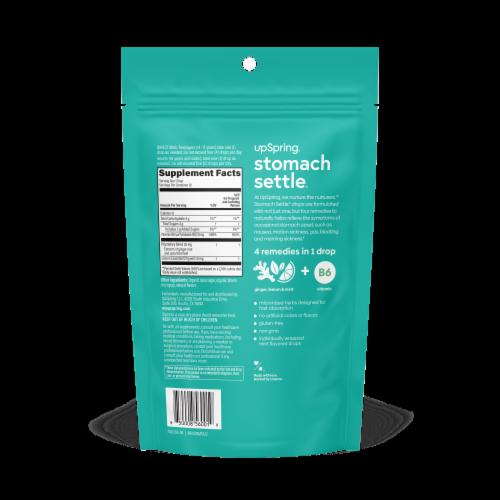 Stomach Settle Mint Flavor Upset Stomach Drops Perspective: back