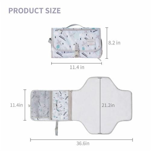 Foldable Changing Pad Perspective: back