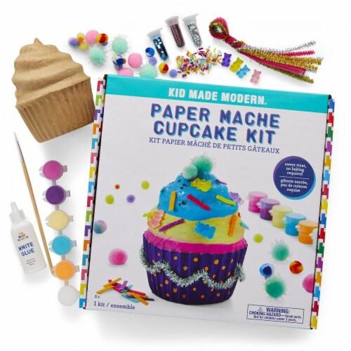 Paper Mache Cupcake Perspective: back