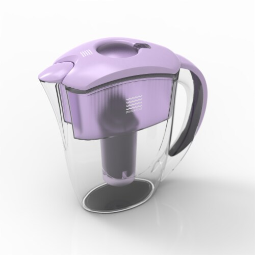 Drinkpod  Alkaline Water Pitcher 2.5L Capacity Includes 3 Filters Perspective: back