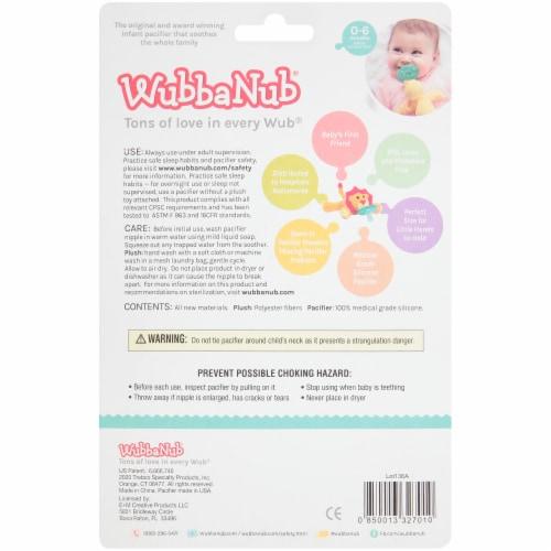 WubbaNub® Monkey Infant Pacifier Perspective: back