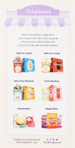 Enlightened® Sugar-Free Classic Cones Perspective: back