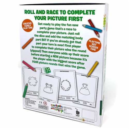 SolidRoots Roll and Write Games Monsters & Fairies Game Perspective: back