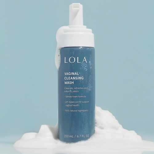 LOLA Vaginal Cleansing Wash Perspective: back