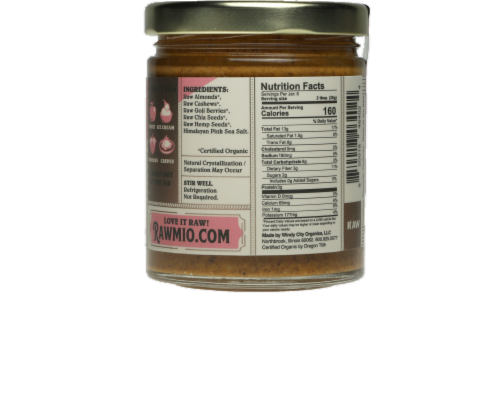 Rawmio Superfood Spread Perspective: back