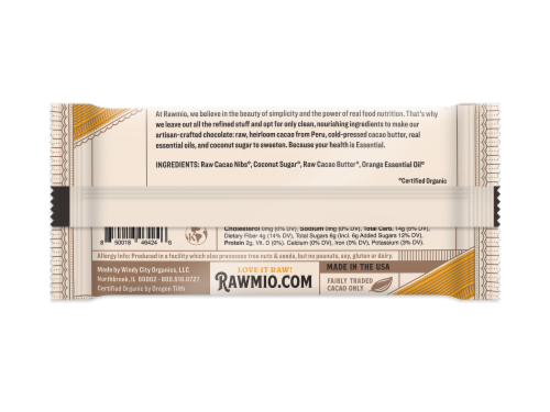 Deroma Spa Essentials Dark Chocolate Orange Bars Perspective: back