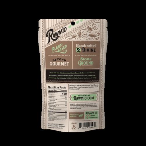 Rawmio 70% Raw Mint Chocolate Hearts Perspective: back