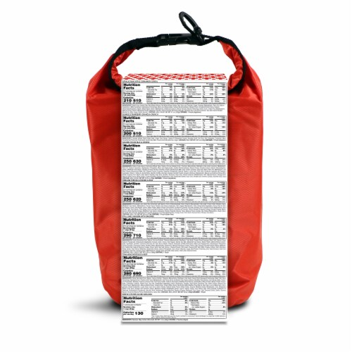 American Red Cross 2-Day Ready to Go Emergency Meal Kit Perspective: back