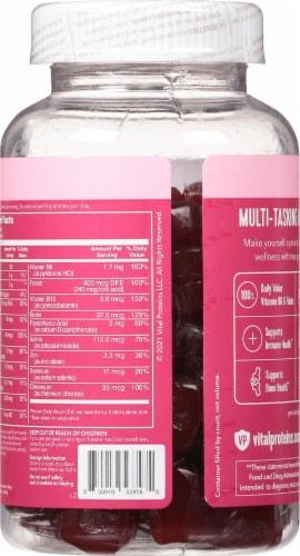 Vital Proteins Women's Raspberry Multi Gummies Perspective: back
